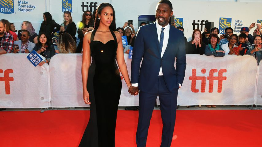 Sabrina Dhowre und Idris Elba