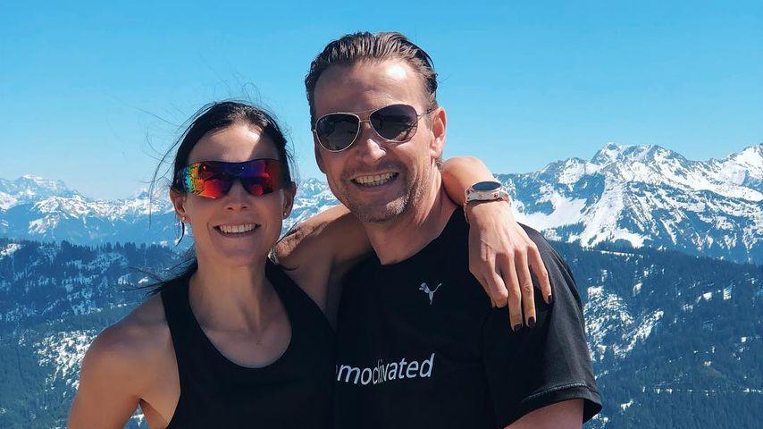 Sabrina Mockenhaupt und ihr Mann