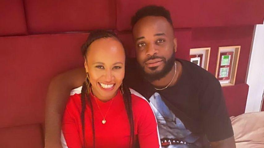 Sängerin Emeli Sandé und ihr Partner Jonathan Kabamba im Juli 2020