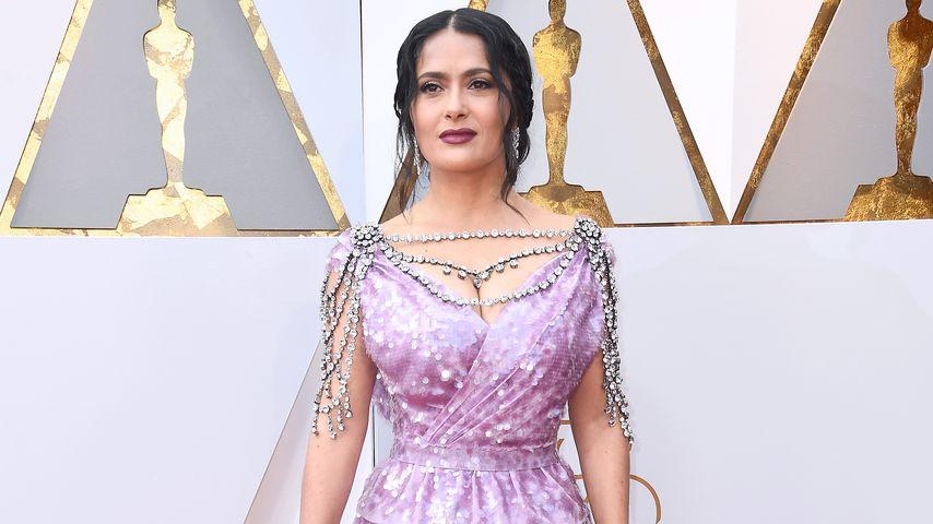 Salma Hayek bei den Oscars 2018