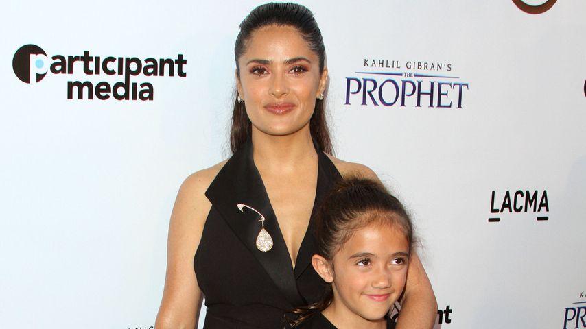 Salma Hayek mit ihrer Tochter Valentina