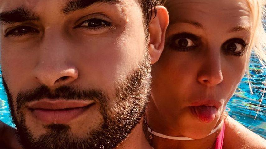Abgefackeltes Home-Gym: Sam neckt Britney Spears im Netz