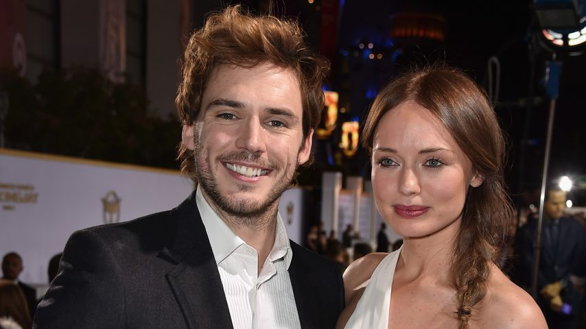 Sam Claflin und Laura Haddock 2014 in Los Angeles