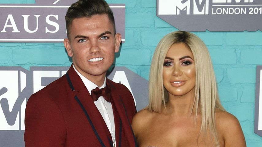 Sam Gowland und Chloe Ferry 2017 in London