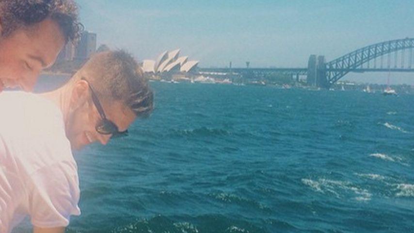Verliebt! Sam Smith & Freund turtelnd in Sydney