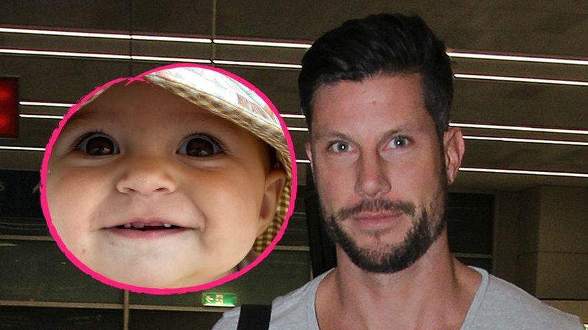 Tochter von australischem Ex-Bachelor bekommt erste Zähne
