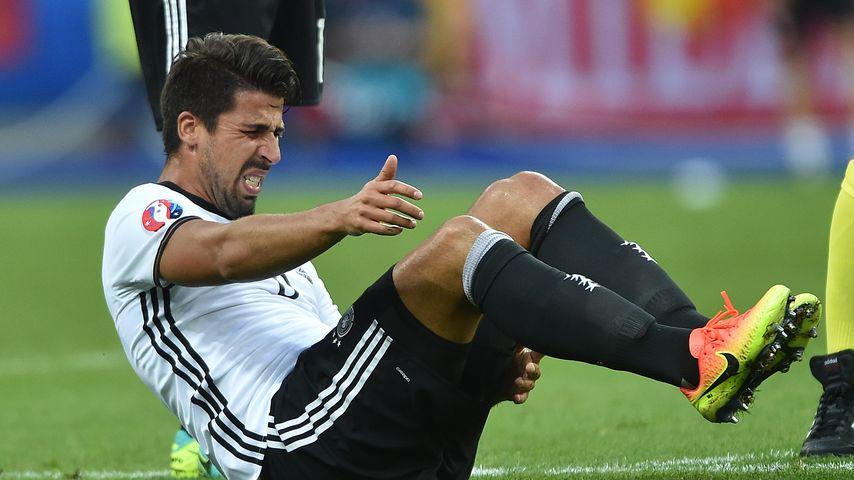 Bittere Niederlage: Sami Khedira muss verletzt aus dem Spiel