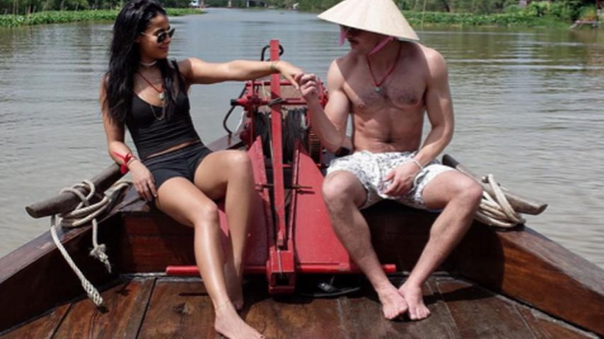 Versteckte Botschaft? Zac Efron auf Boots-Fahrt mit Sami