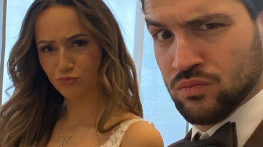 Samira und Yasin am Tag ihrer Hochzeit