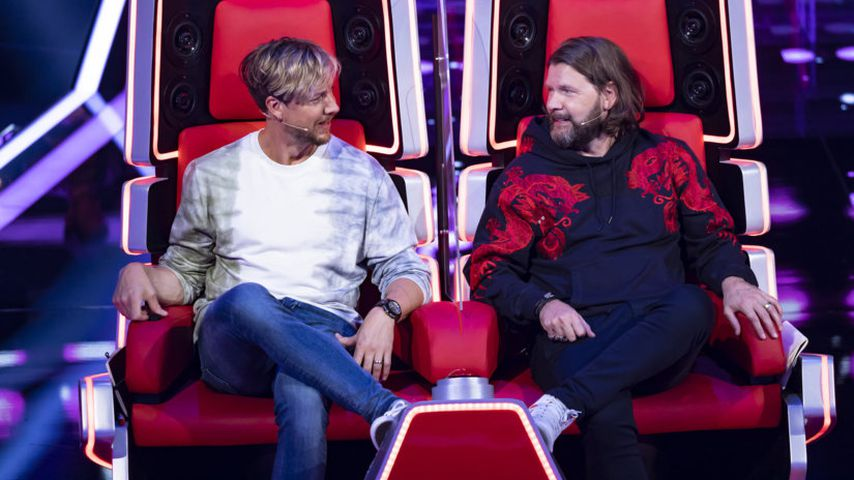 "Samu Haber und Rea Garvey für ""The Voice of Germany"""