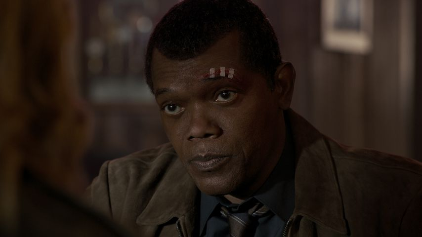 "Samuel L. Jackson als Nick Fury in ""Captain Marvel"""
