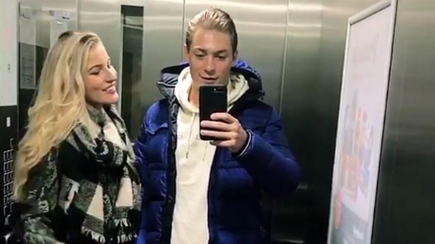 Sandra Janina und Henrik Stoltenberg im Oktober 2020 in Köln