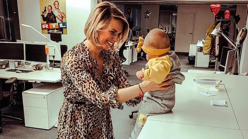Moderatorin Sandra Kuhn über ihr Familienglück mit Baby Leni