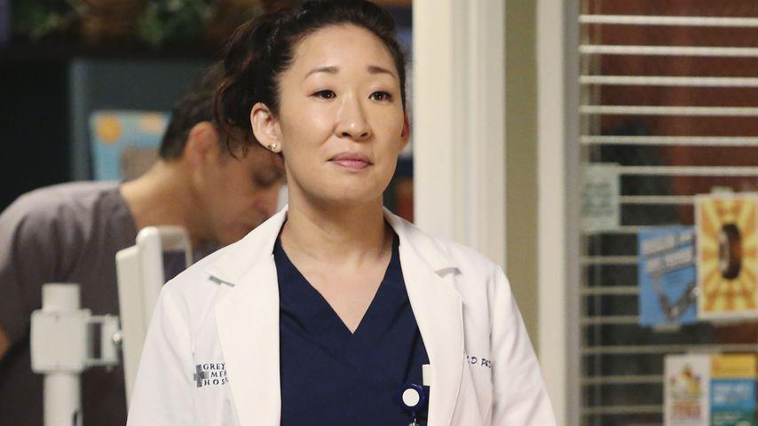 "Sandra Oh als Dr. Cristina Yang in ""Grey's Anatomy"""
