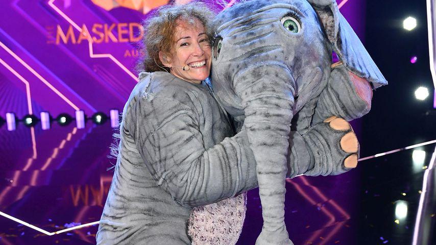 "Sandra Pires als Babyelefant bei ""The Masked Singer Austria"""