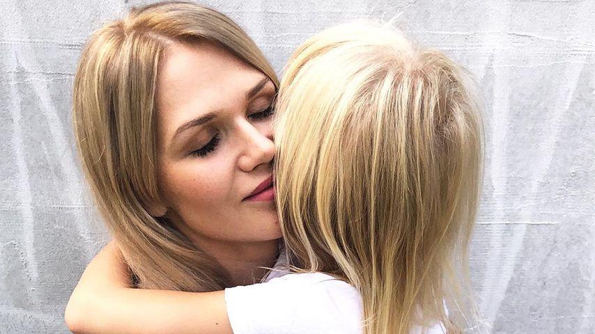Sara Kulka und ihre Tochter Matilda