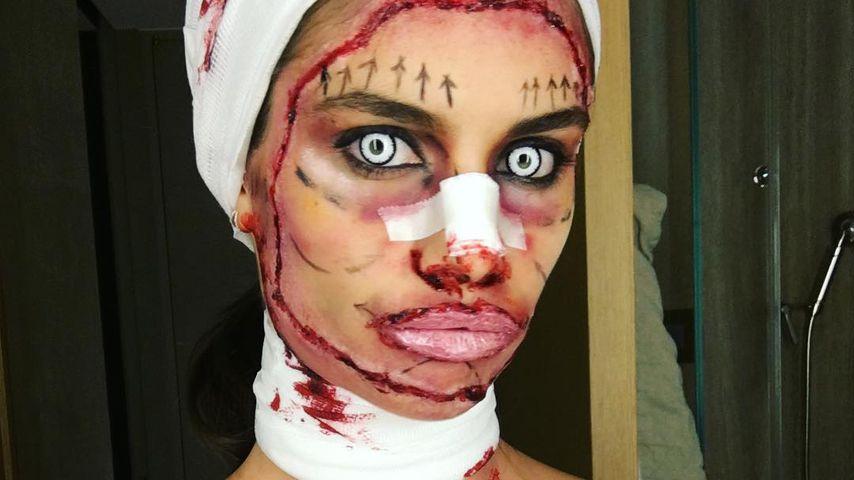 Blutiges Beauty-OP-Kostüm: Teilt VS-Engel Sara Sampaio aus?