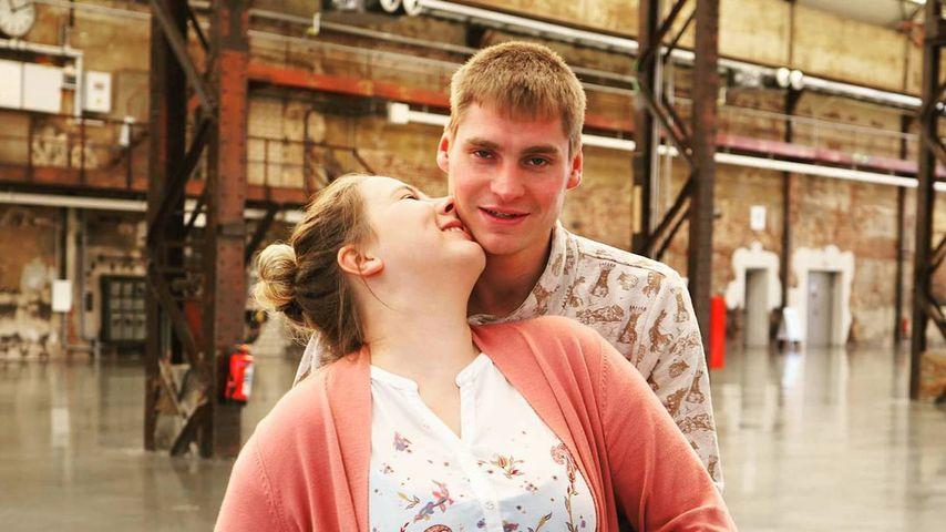 Sarafina Wollny mit ihrem Mann Peter