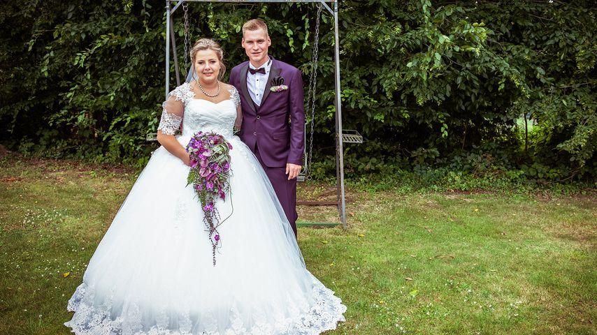 Sarafina Wollny und ihr Mann Peter bei ihrer Hochzeit