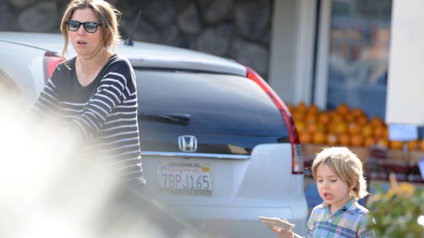 Sarah Chalke mit ihrem Sohn Charlie