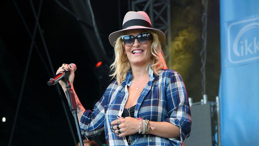 Sarah Connor 2016 beim Konzert in Magdeburg