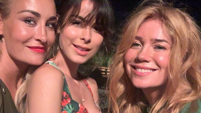 Machen Sarah Connor, Lena und Palina gemeinsam Urlaub?
