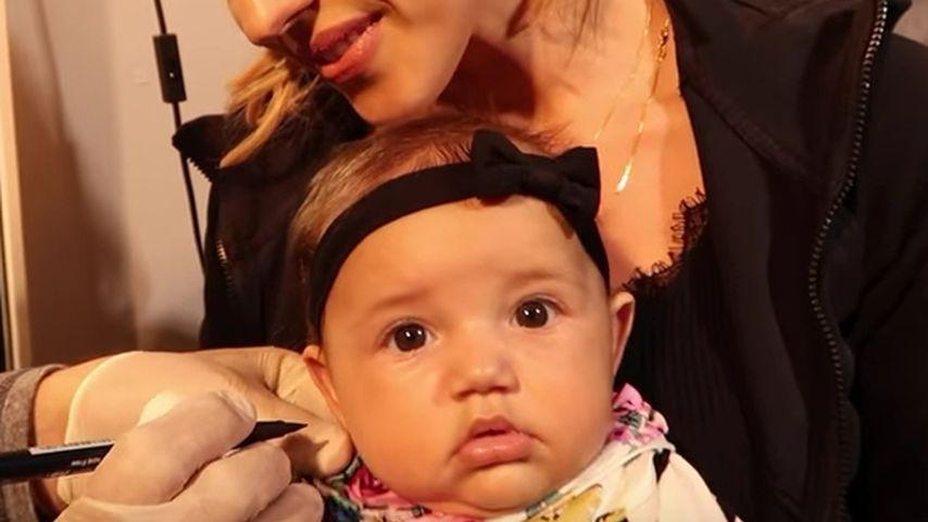 Mit nur 4 Monaten: Ohrloch-Piercings für Mia Rose Harrison!