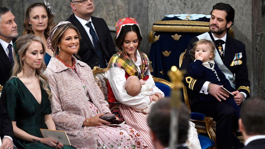 Schweden Trägt Von Lieber Tauf Dresscode Madeleine Rot Rosa 45AjRL