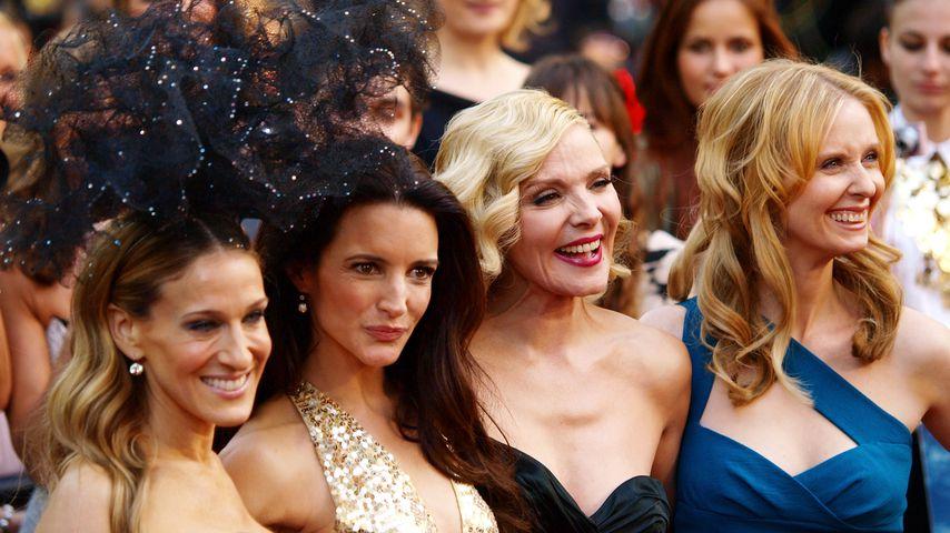 SATC-Stars Sarah Jessica-Parker, Kristin Davis, Kim Cattrall und Cynthia Nixon