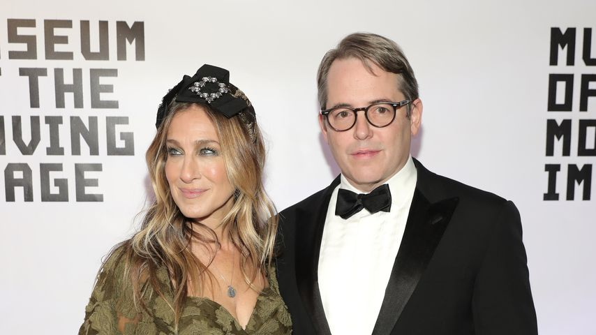 "Sarah Jessica Parker und Matthew Broderick im ""Museum Of The Moving Image"""