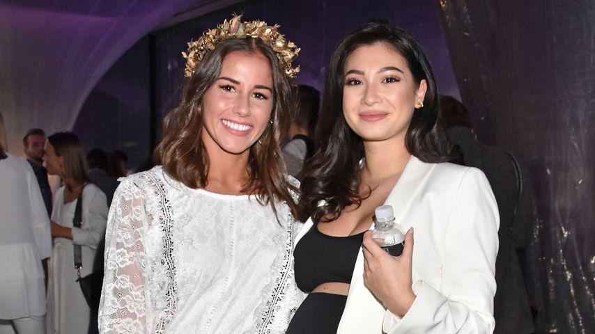 """Sarah Lombardi und Paola Maria beim """"Beetique""""-Event 2018"""
