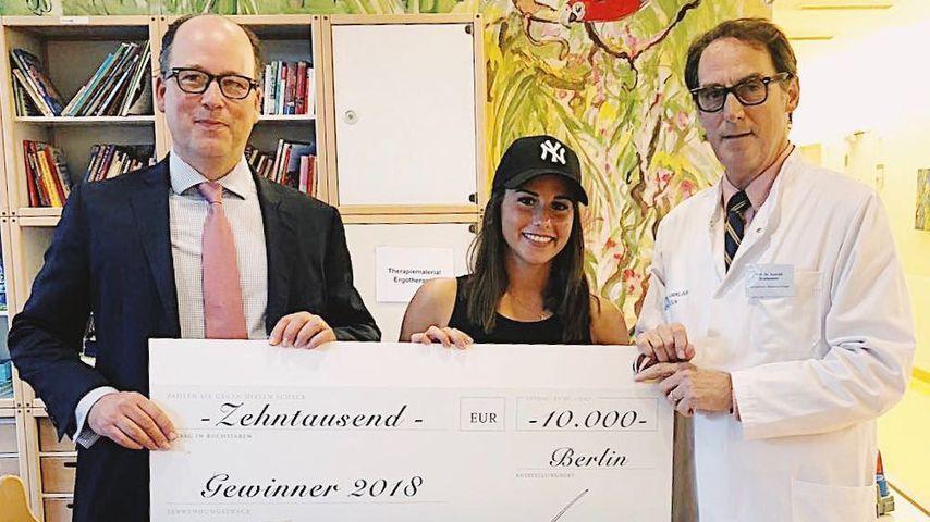 Sarah Lombardi: 10.000-Euro-Spende an Alessios Krankenhaus!