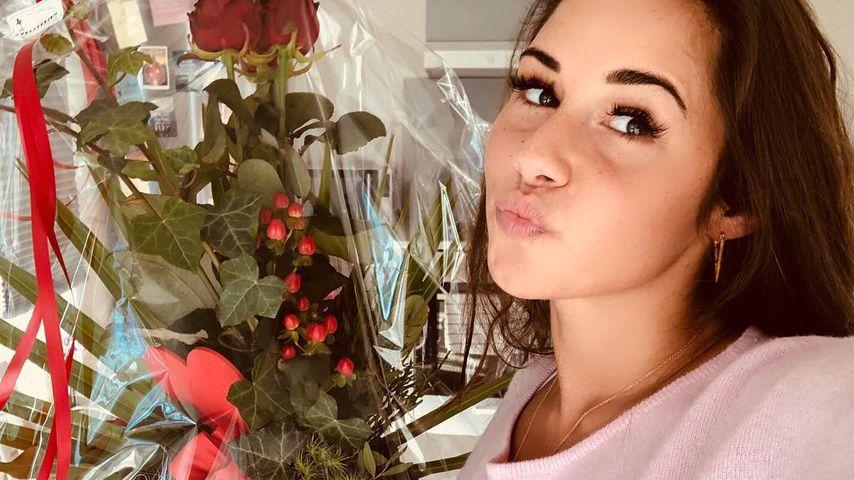 Sarah Lombardi: Von wem sind denn diese Valentinstags-Rosen?