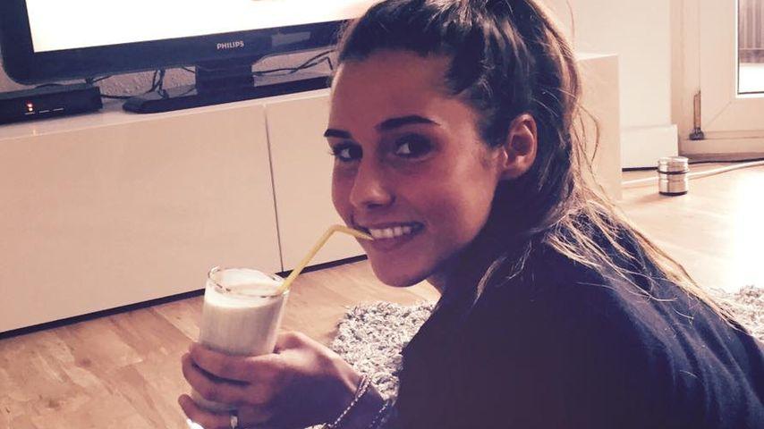 Sarah Lombardis Social-Media-Werbung für Fit-Banana-Shake