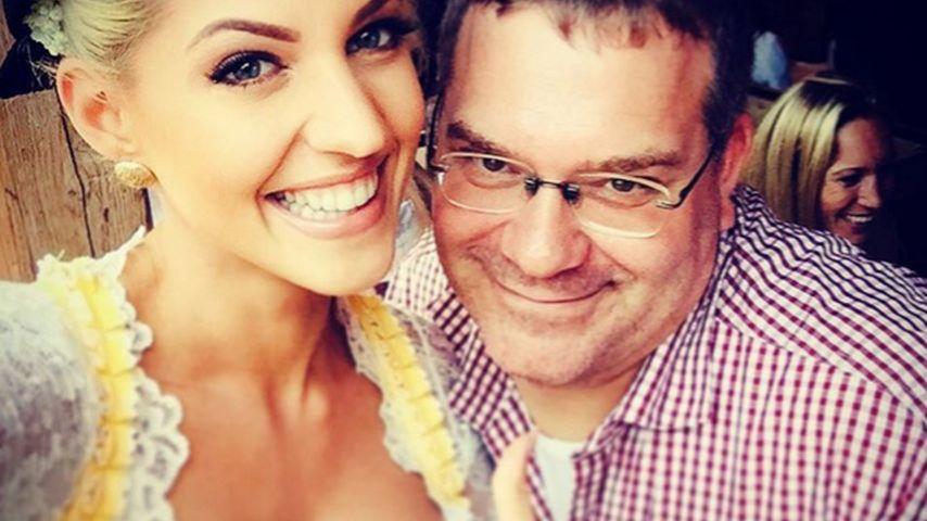 Total begeistert: Sarah Nowak hat Elton kennengelernt