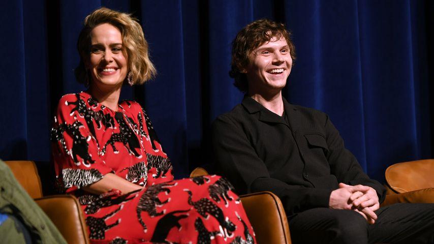 "Sarah Paulson und Evan Peters, ""American Horror Story""-Stars"
