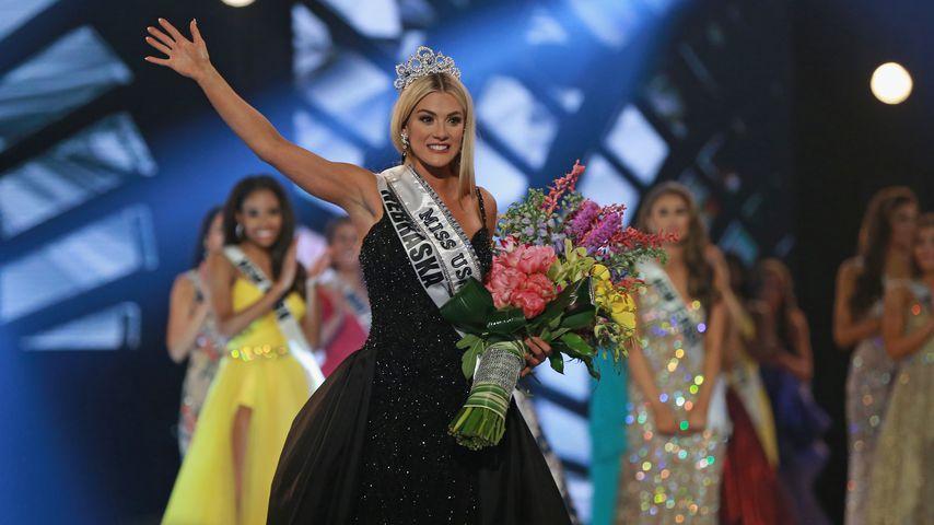Verführerisch! Miss USA lässt tief blicken!