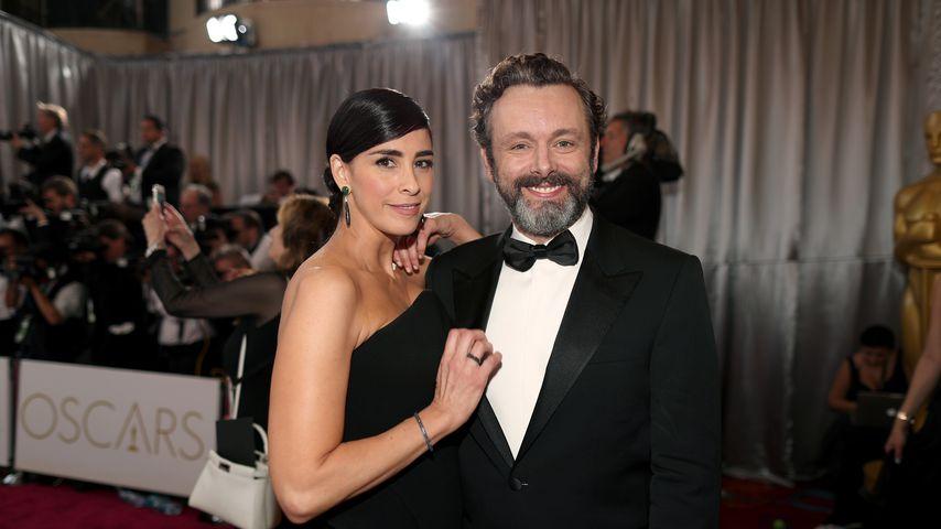 Sarah Silverman und Michael Sheen bei den Oscars
