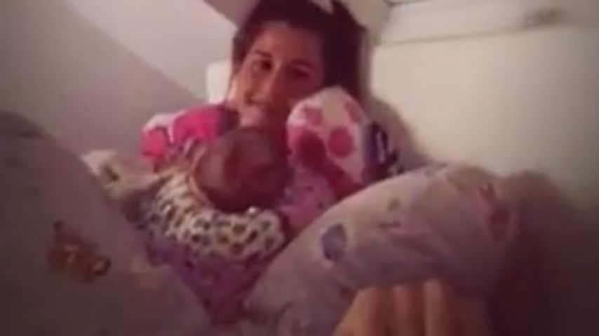 Schmuse-Video mit Alessio: So geht Familie Lombardi schlafen