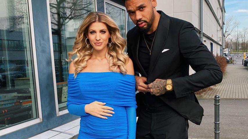 Sarah und Dominic Harrison im Februar 2020