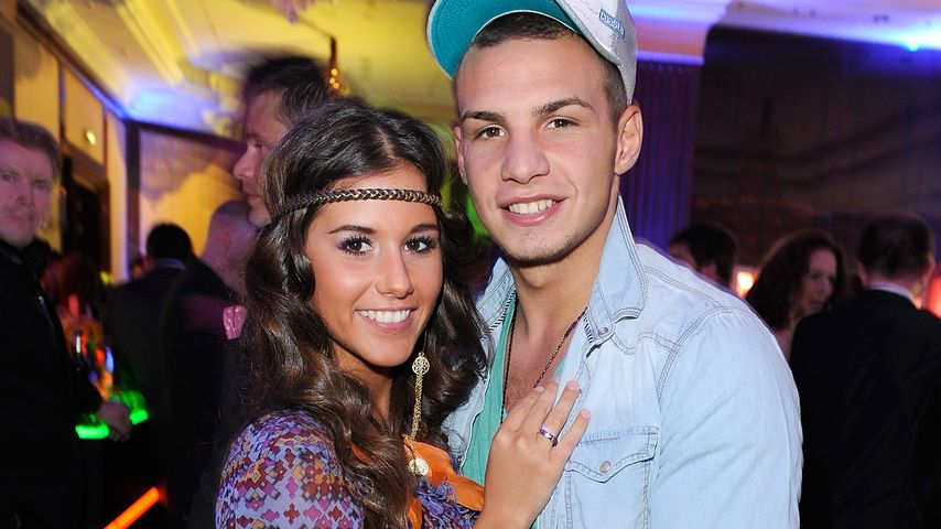 Sarah und Pietro Lombardi bei der Movie Media Meets Party, 2012