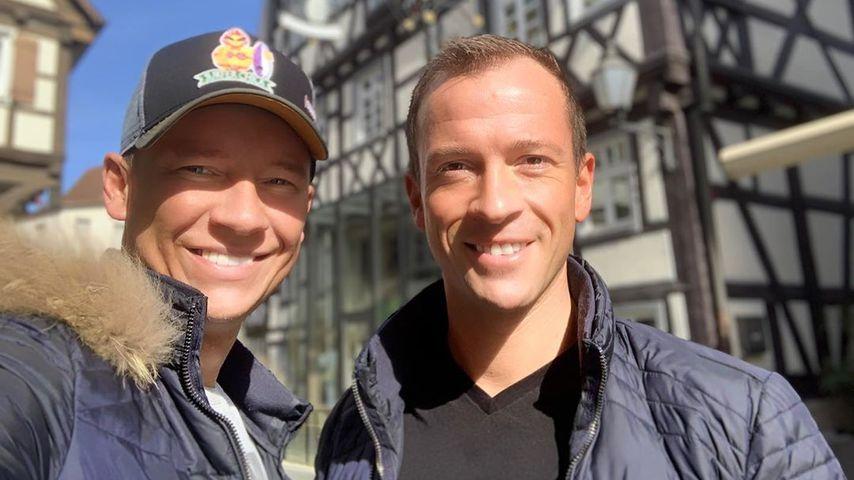 Sascha Lauterbach mit seinem Mann Sebastian Aderhold