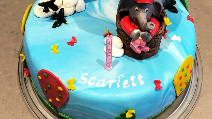 Geburtstagstorte für Scarlett Gartmann
