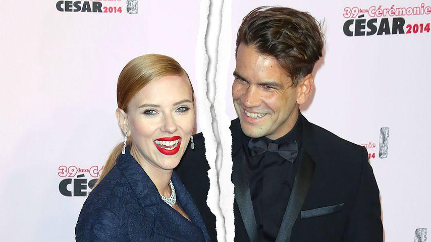 Nach 4 Jahren: Scarlett Johansson & Romain Dauriac getrennt!