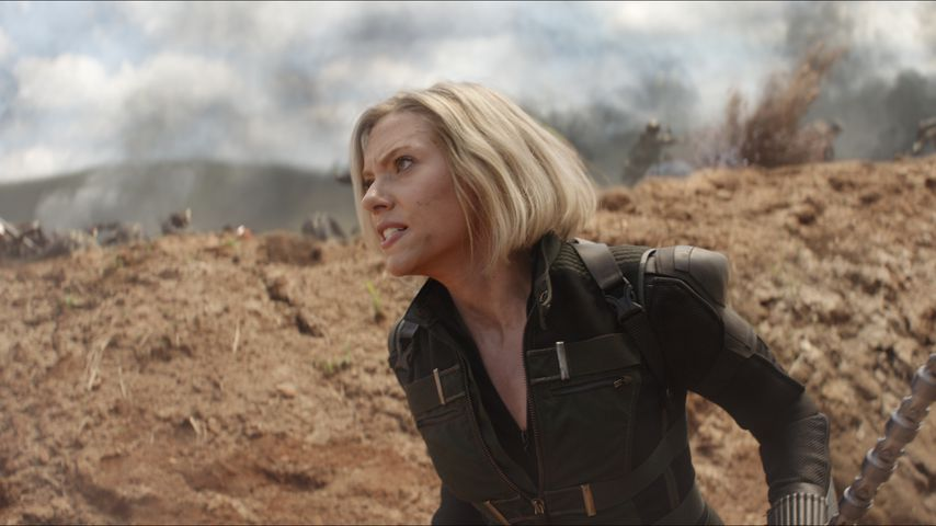 "Scarlett Johansson als Black Widow in ""Avengers: Infinity War"""