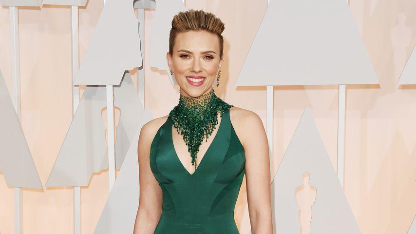 Scarlett Johansson bei den Oscars im Jahr 2015