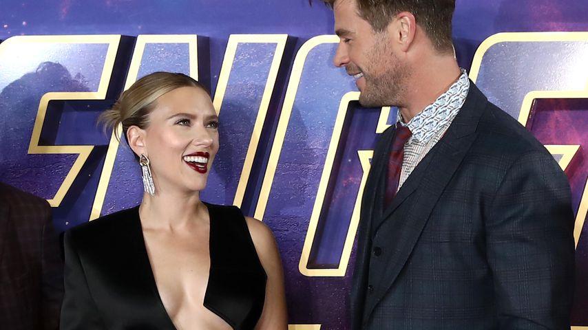 Scarlett Johansson und Chris Hemsworth