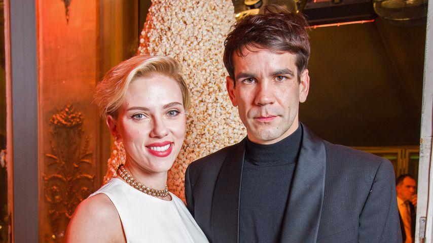 Scarlett Johansson und Romain Dauriac im Dezember 2016