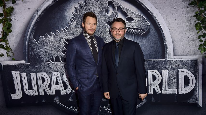 "Chris Pratt und Colin Trevorrow bei der ""Jurassic World"" Premiere"