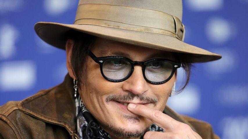 Vier Tage online: Johnny Depp hat über drei Mio. Follower
